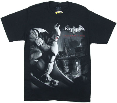 Vengeance Over City - Batman Arkham City T-shirt