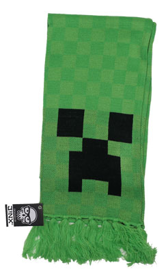 Creeper Face - Minecraft Scarf