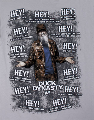 Si Quotes - Duck Dynasty T-shirt