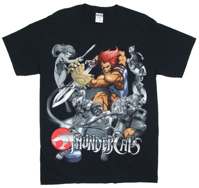 Lion-O In The Middle - Thundercats T-shirt