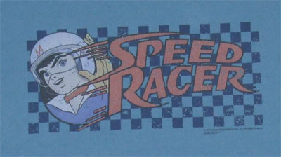 Checkered Flag - Speed Racer T-shirt