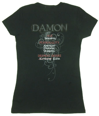 Damon - Vampire Diaries Sheer Women's T-shirt