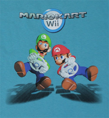 Mario Kart Wii - Nintendo Youth T-shirt