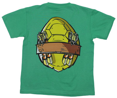 Michaelangelo Costume - Teenage Mutant Ninja Turtles Juvenile T-shirt