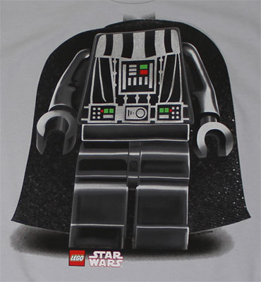 Vader Costume - LEGO Star Wars Youth T-shirt