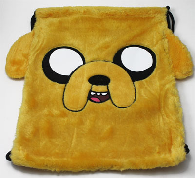 Jake Face - Adventure Time Book Bag