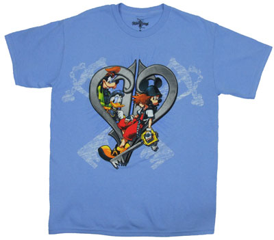 Keys - Kingdom Hearts T-shirt