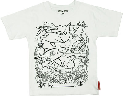 Undersea Color My Tee T-shirt