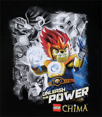 Unleash The Power - LEGO Chima Juvenile T-shirt
