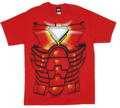 Iron Man Costume - Marvel Comics T-shirt
