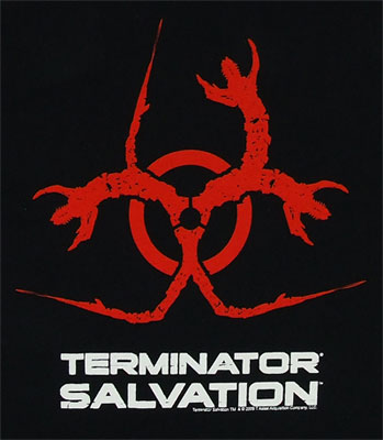 Biohazard - Terminator Salvation T-shirt