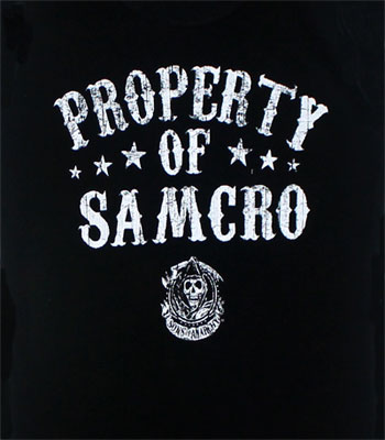 Property Of Samcro - Sons Of Anarchy Juniors Tank Top