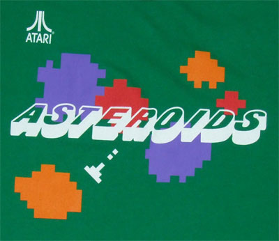Asteroids - Atari Sheer T-shirt