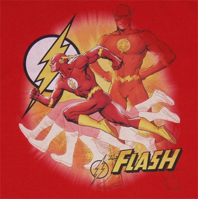 Lightning Fast - DC Comics T-shirt