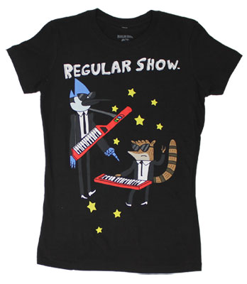 Play The Keytar - Regular Show Sheer Women's T-shirt