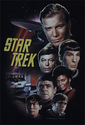 The Classic Crew - Star Trek T-shirt