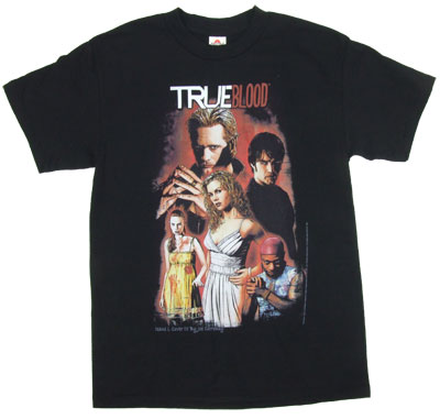 Bloody Group - True Blood T-shirt