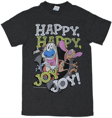 Happy Happy Joy Joy - Ren And Stimpy T-shirt
