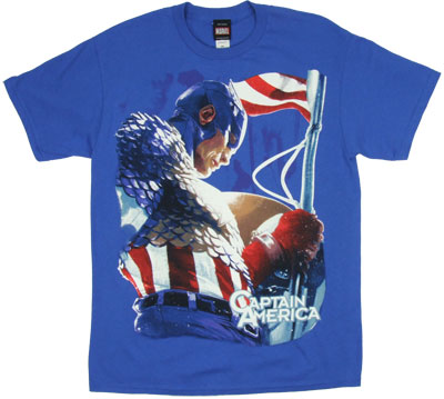 These Colors Don't Run - Captain America T-shirt