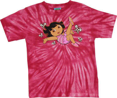 Dora With Butterflies - Dora The Explorer Youth T-shirt