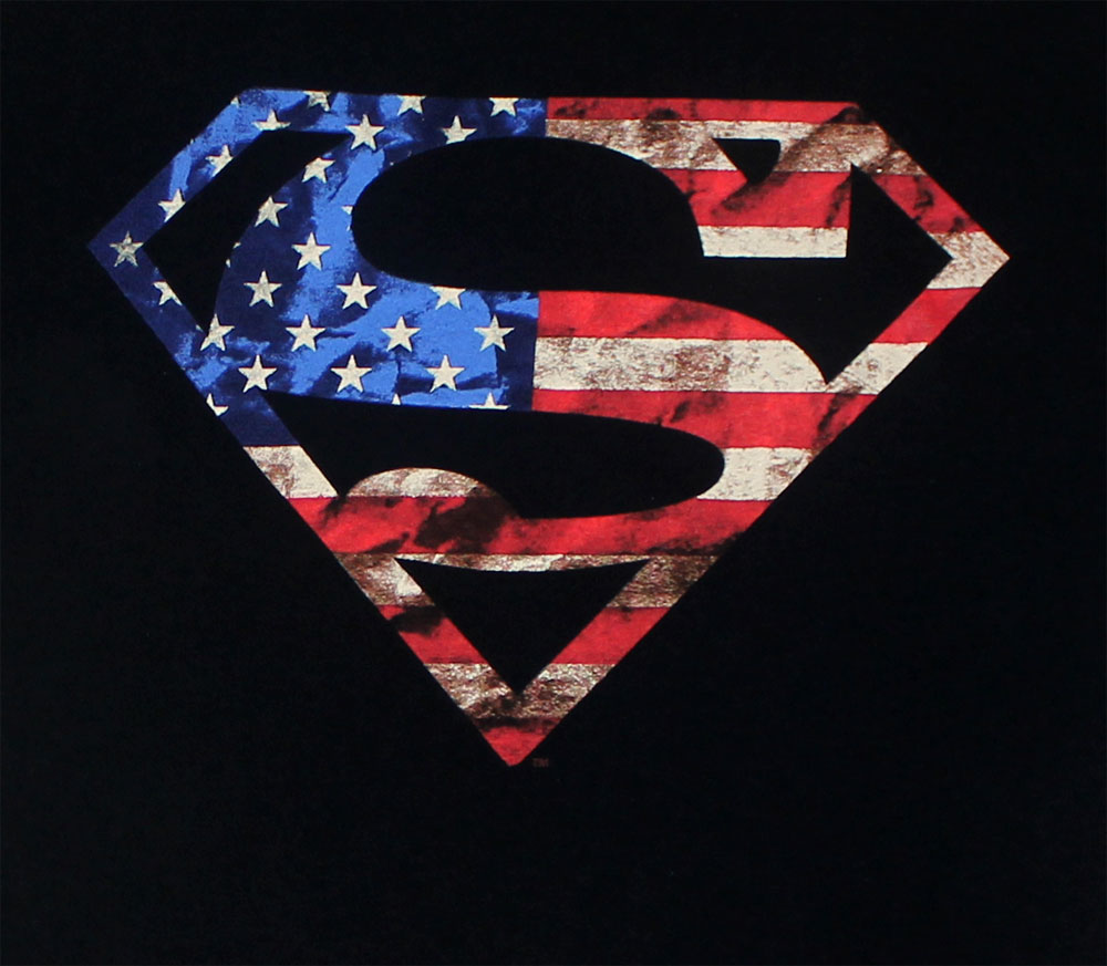 American Superman - DC Comics T-shirt