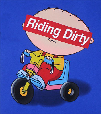 Riding Dirty - Family Guy T-shirt