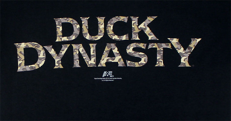 Camo Logo - Duck Dynasty T-shirt