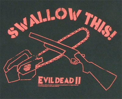 Swallow This - Evil Dead T-shirt