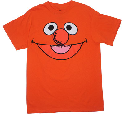 Ernie Face - Sesame Street T-shirt