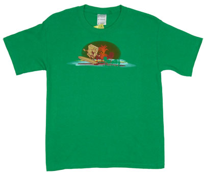 Surfing - Spongebob Squarepants Boys T-shirt