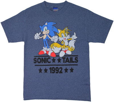 Sonic And Tails - Sonic The Hedgehog T-shirt