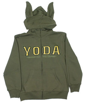 Yoda Costume - Star Wars Youth Hooded Sweatshirt