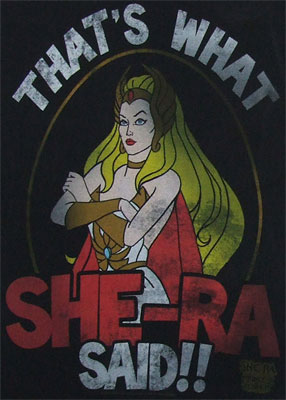 That's What She-Ra Said - She-Ra Sheer Women's T-shirt