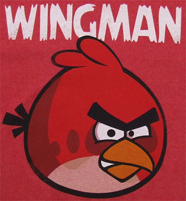 Wingman - Angry Birds T-shirt