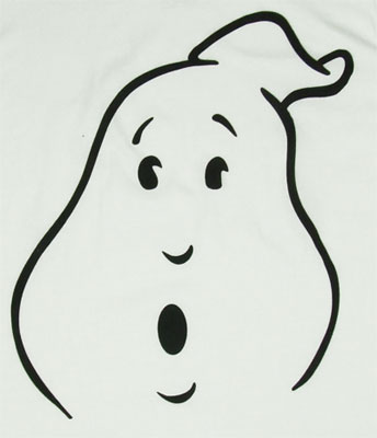 Ghost Face - Ghostbusters Sheer T-shirt