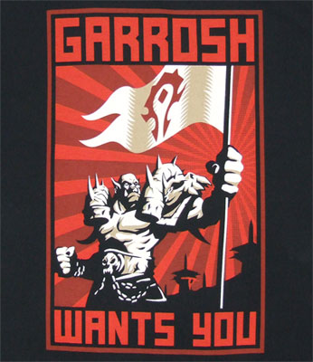 Garrosh Wants You - World Of Warcraft T-shirt