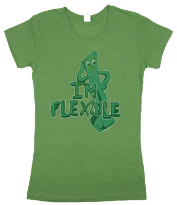 I'm Flexible - Gumby Sheer Women's T-shirt