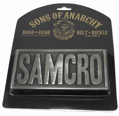 Samcro - Sons Of Anarchy Belt Buckle