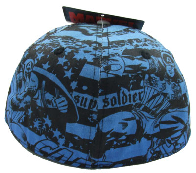 Captain America Embroidered - Marvel Comics Baseball Cap