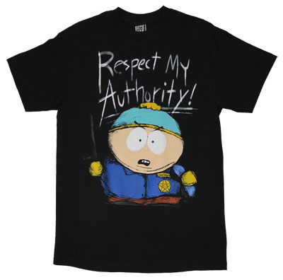 Respect My Authority - South Park T-shirt