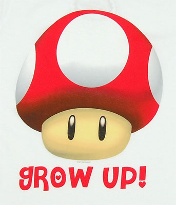 Grow Up - Nintendo Sheer Women's T-shirt