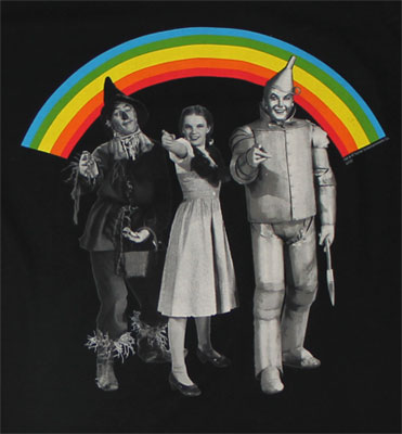 Rainbow Cast - Wizard Of Oz Sheer T-shirt