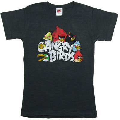 The Nest - Angry Birds Sheer Women's T-shirt