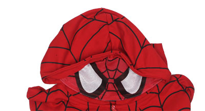 Spider-Man Costume - Marvel Comics Hooded Sweatshirt