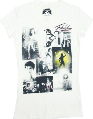 Flashdance Collage - Flashdance Sheer Women's T-shirt