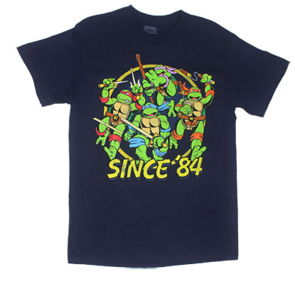 Since '84 - Teenage Mutant Ninja Turtles T-shirt