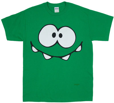 Monster Face - Cut The Rope T-shirt