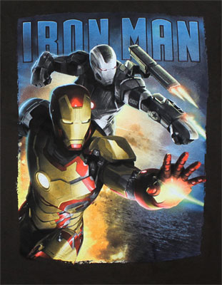 In Tandem - Iron Man 3 T-shirt