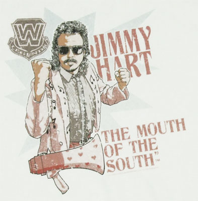 Jimmy Hart - WWE T-shirt