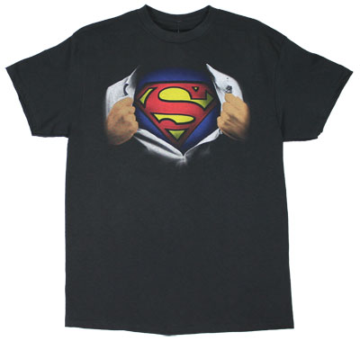 Superman Ripping Shirt - DC Comics T-shirt
